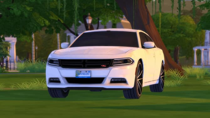 Dodge Charger R/T for The Sims 4