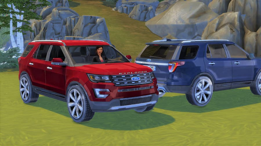 Ford Explorer suv the sims 4