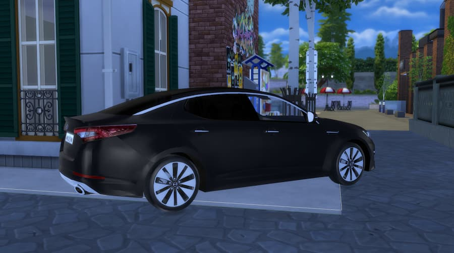 The Sims 4 2013 KIA Optima