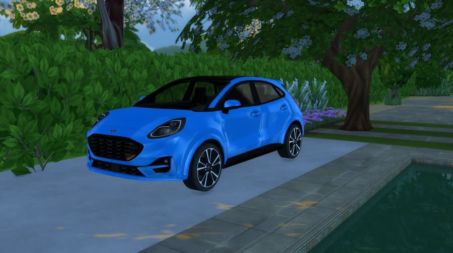 Ford Puma ST-Line auto the sims 4