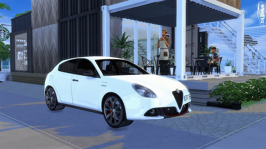 Alfa Romeo Giulietta car the sims 4