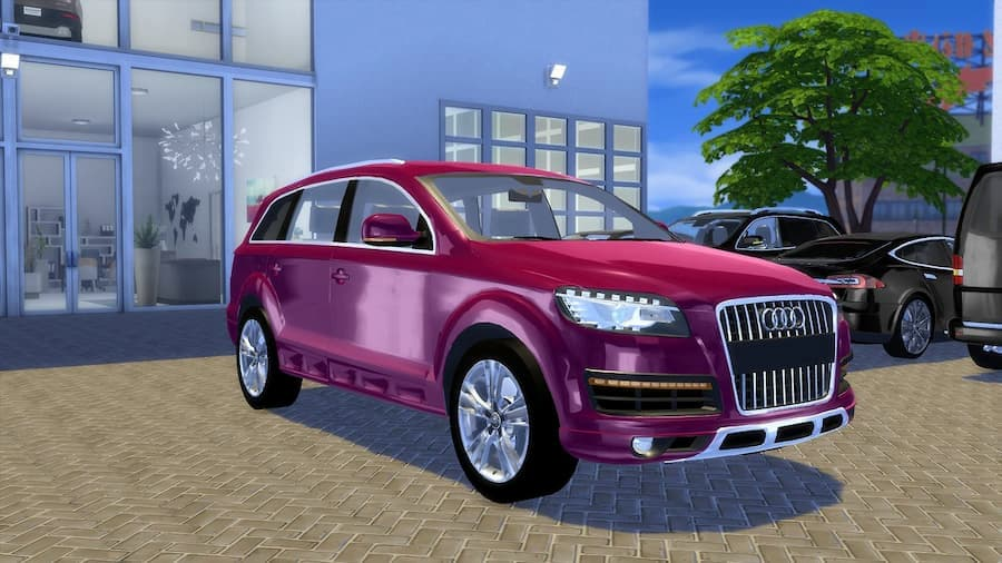 Audi Q7 Offroad-Style car the sims 4