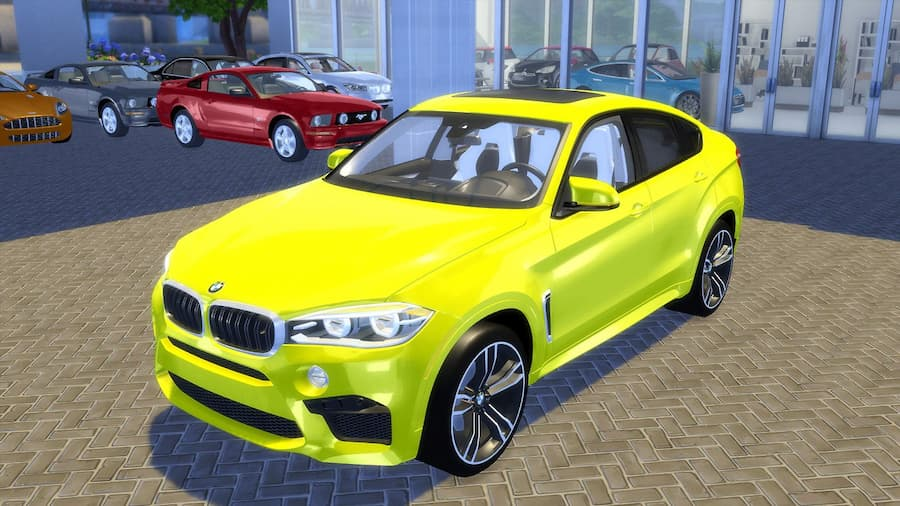 BMW X6 M 2016 auto the sims 4