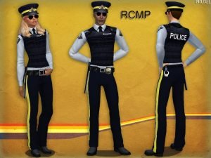 Bruxel – RCMP Set police the sims 4