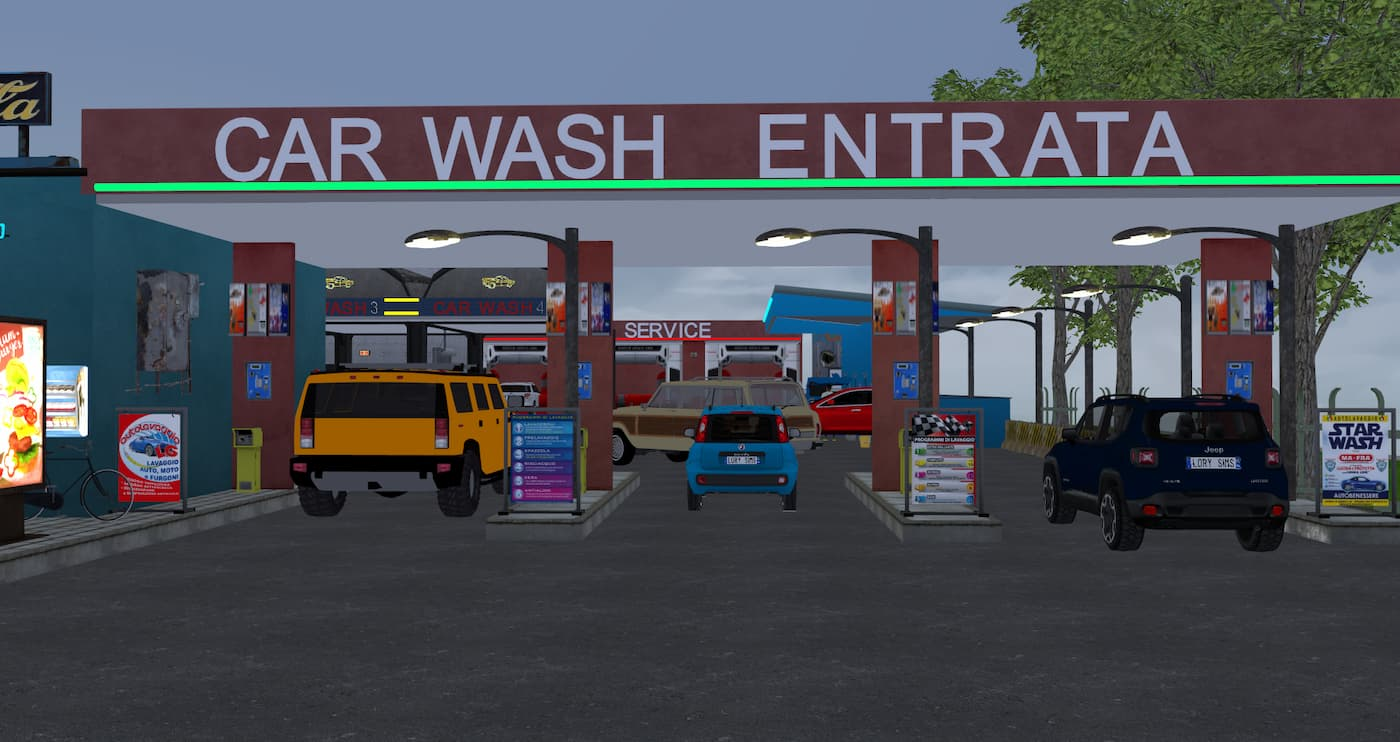 Car Wash Autolavaggio the sims 4