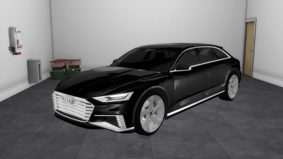 Car the sims 4 Audi Prologue Avant 2015 Concept