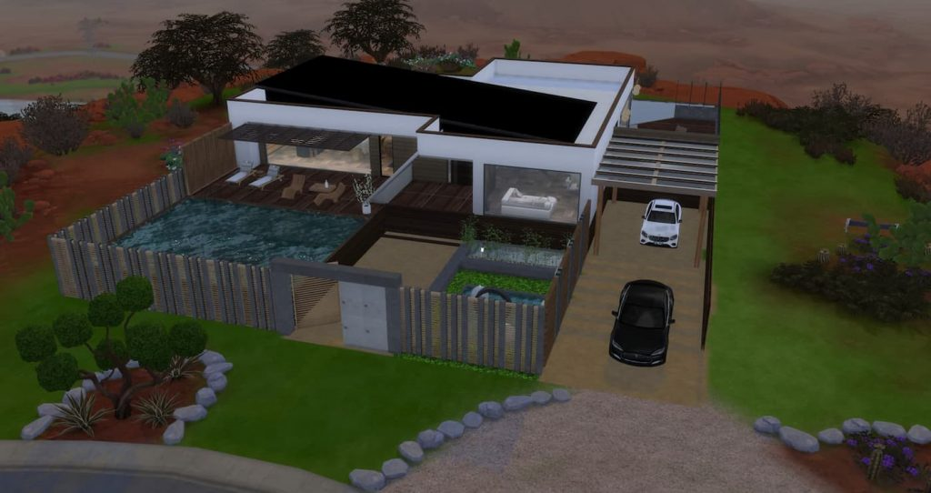 Casa per single lotto residenziale the sims 4