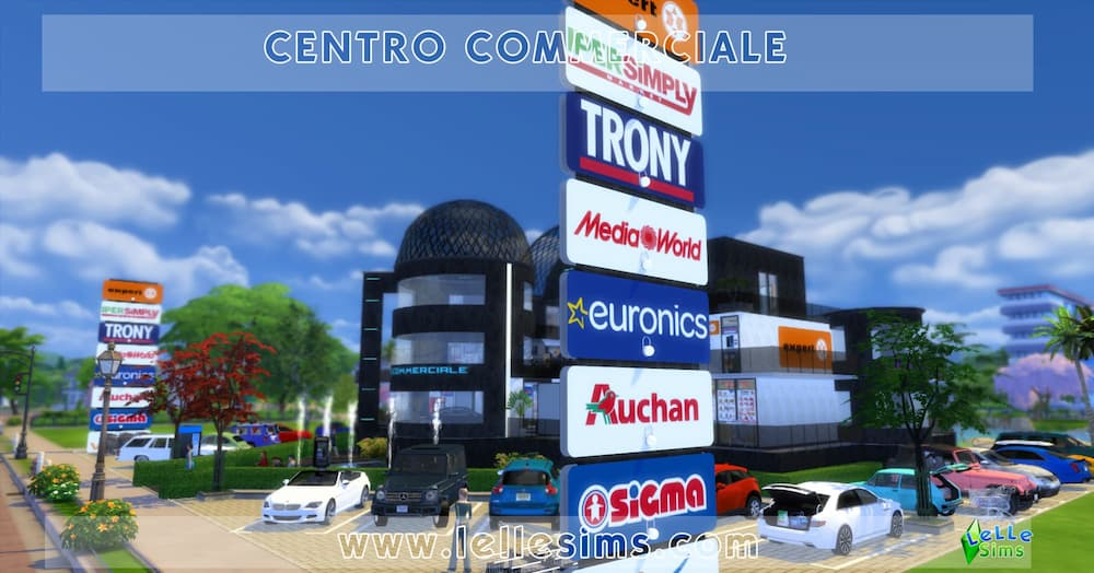 Download Centro Commerciale lotto comunitario the sims 4
