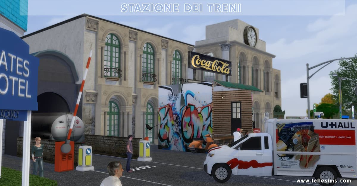 Download lotto comunitario the sims 4 Stazione dei treni