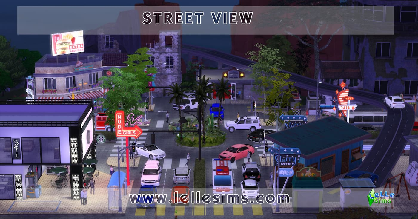 Download lotto comunitario the sims 4 Street View