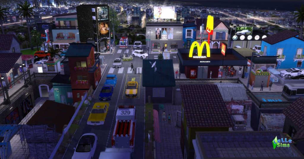 Download lotto comunitario the sims 4 Town Street