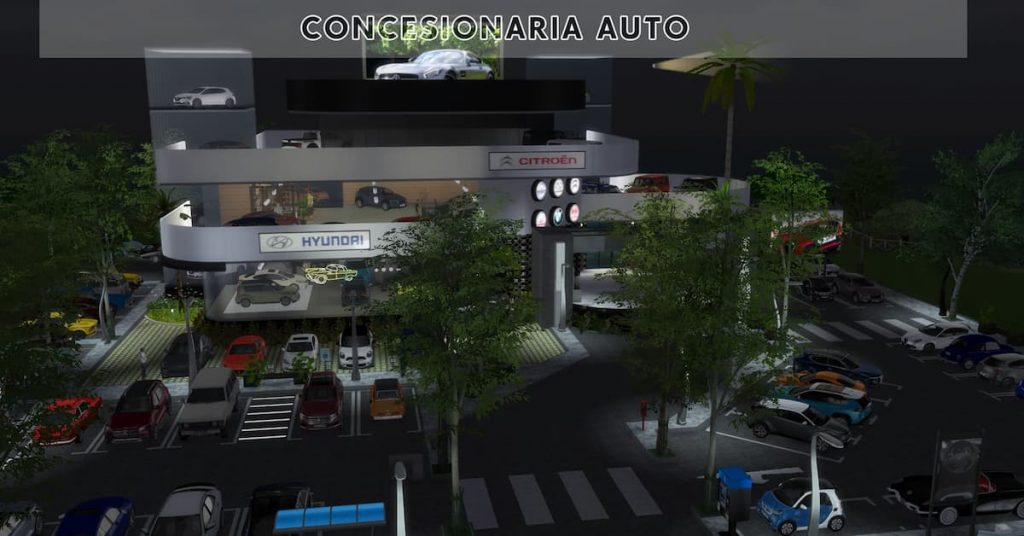 Download lotto negozio concessionaria auto The Sims 4