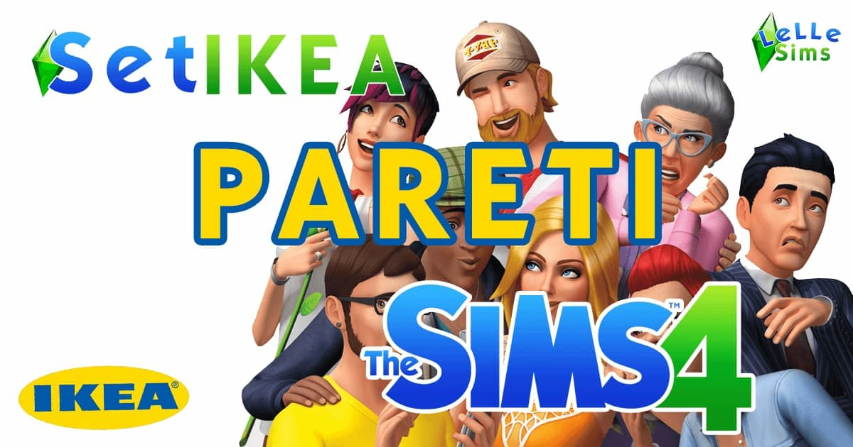 Download pareti ikea the sims 4