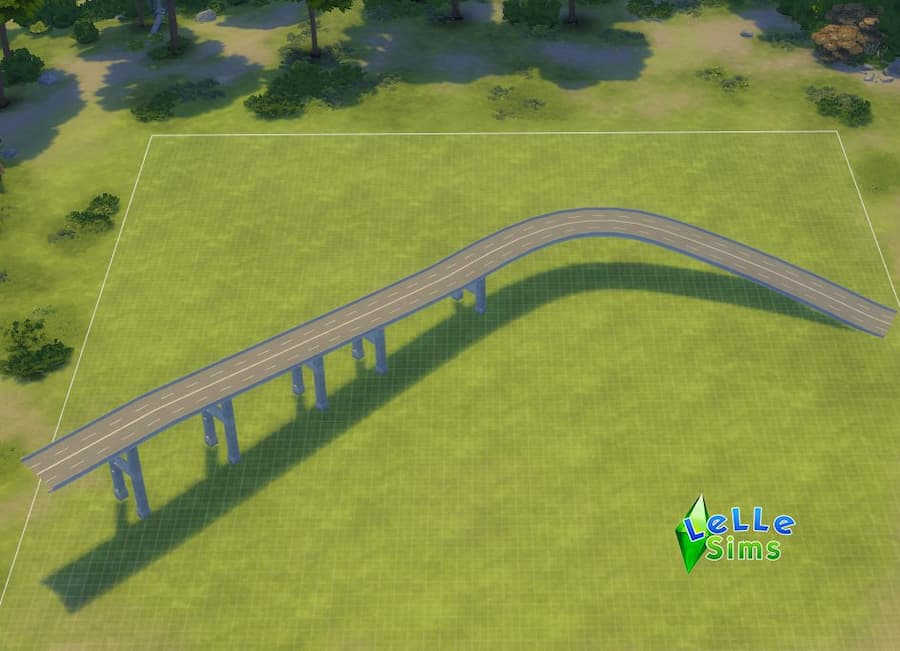 Download ponte stradale decorazioni the sims 4