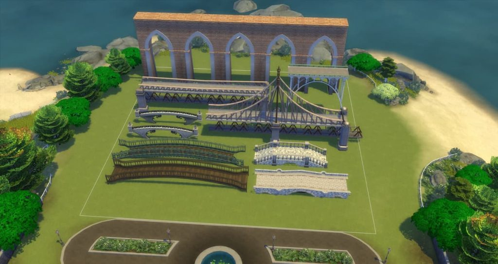 Download ponti bridges decorazioni the sims 4