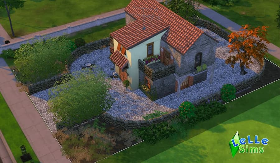 Download recinto in pietra fence decoro the sims 4