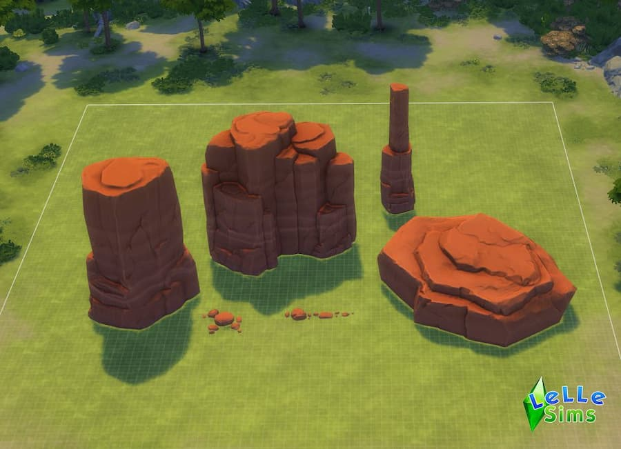 Download rocce rock decorazioni the sims 4