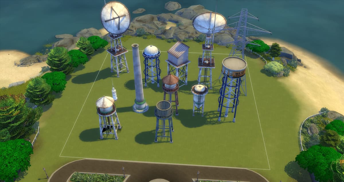 Download tower the sims 4