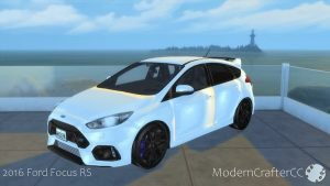 Ford Focus RS auto the sims 4