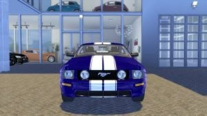 Ford Mustang GT Fastback car the sims 4