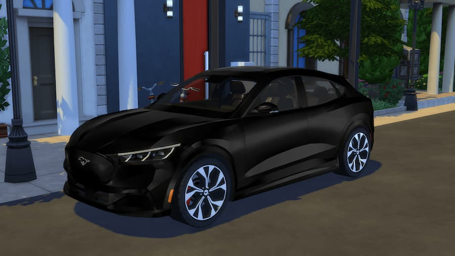 Ford mustang auto the sims 4