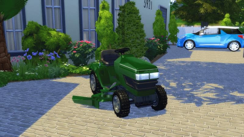 Garden Mower veicoli the sims 4