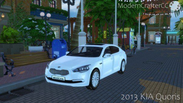 KIA Quoris car the sims 4