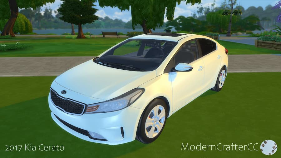 Kia Cerato car the sims 4