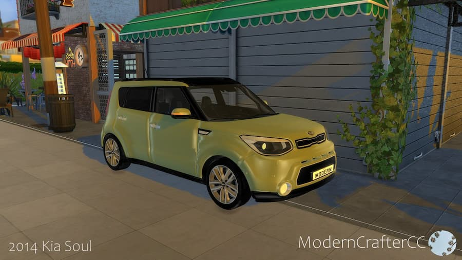 Kia soul car the sims 4