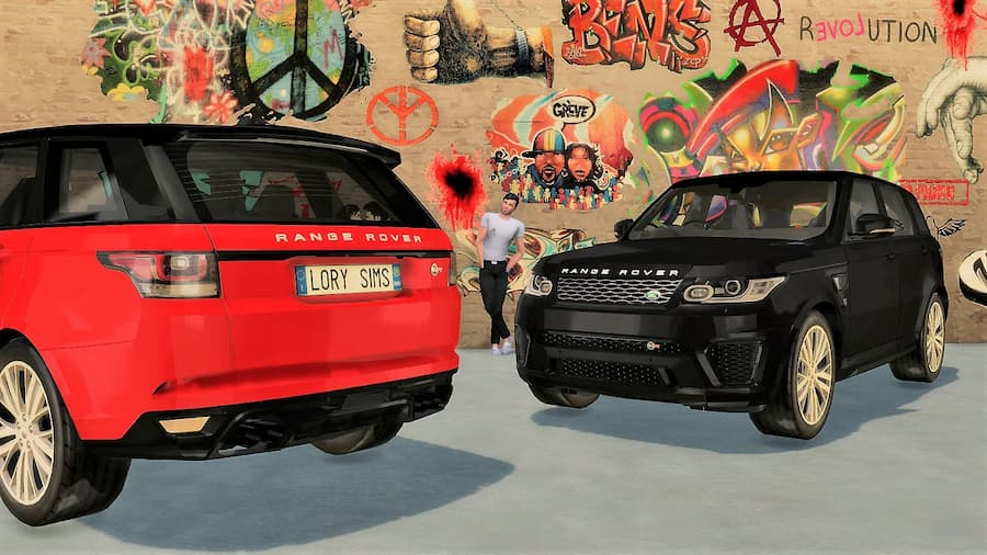 Land Rover Range Rover Sport SVR the sims 4