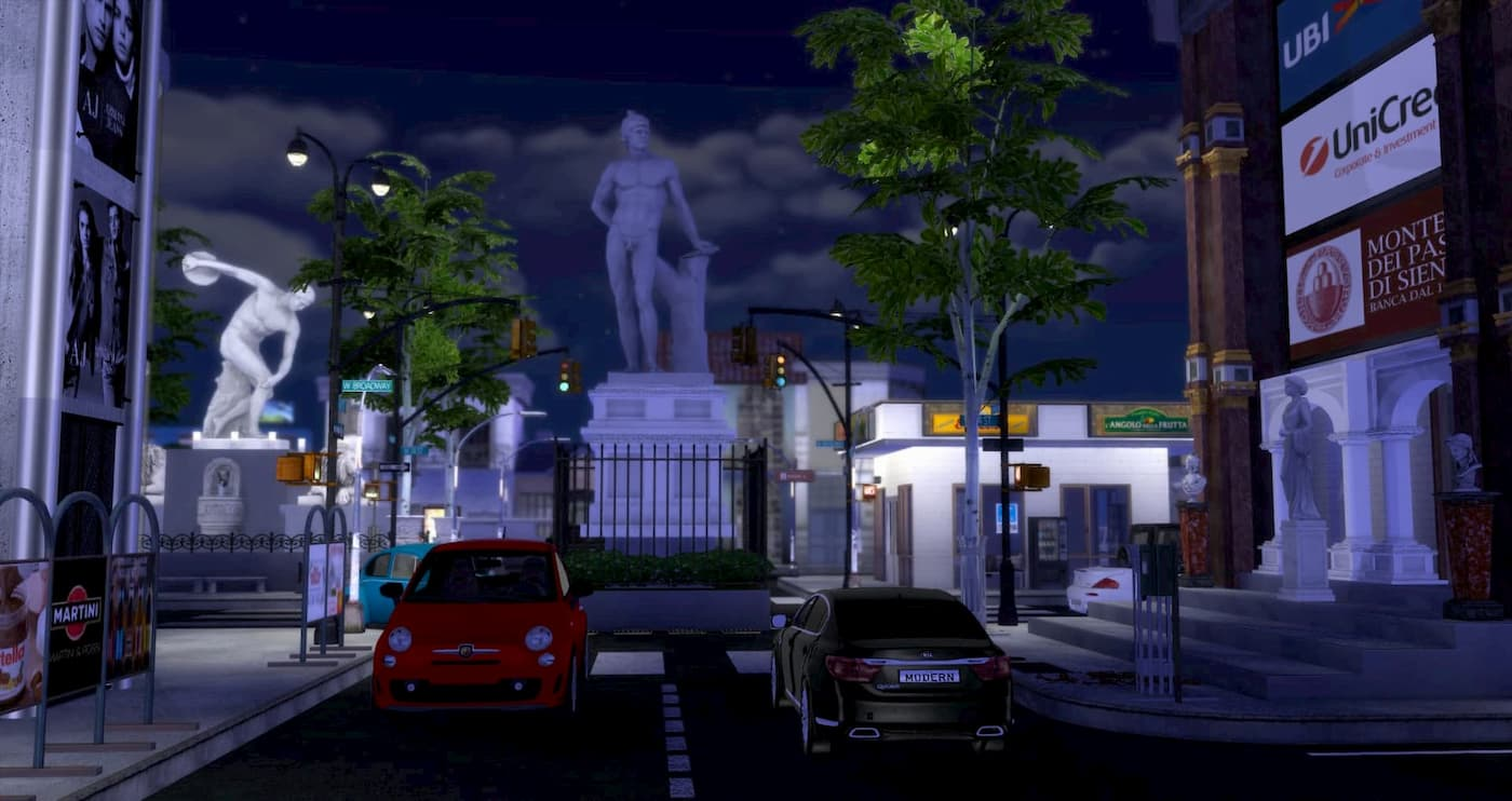 Lotto comunitario the sims 4 città italiana