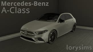 Mercedes benz auto di lusso the sims 4