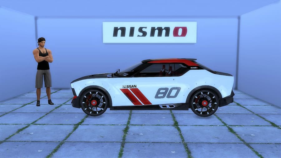 Nissan IDx Nismo auto the sims 4