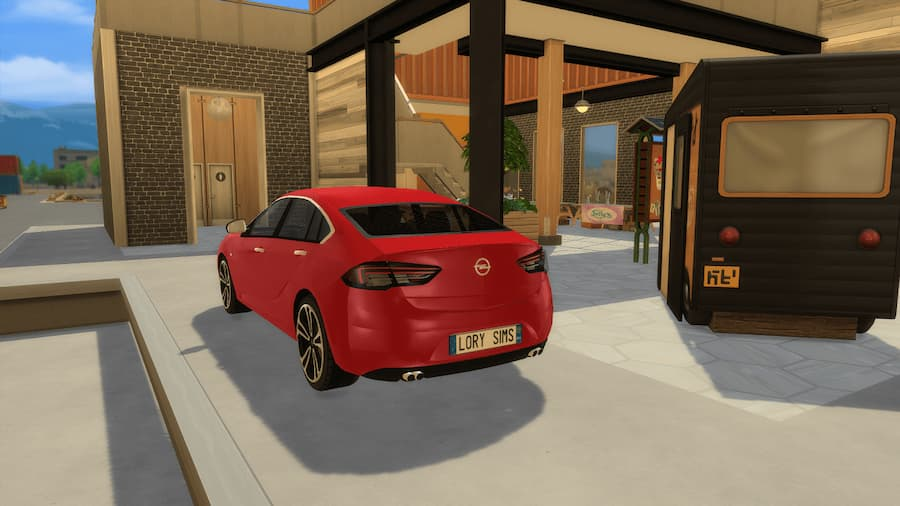 Opel Insignia GS auto the sims 4