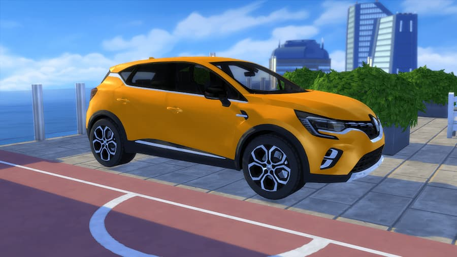 Renault Captur auto the sims 4