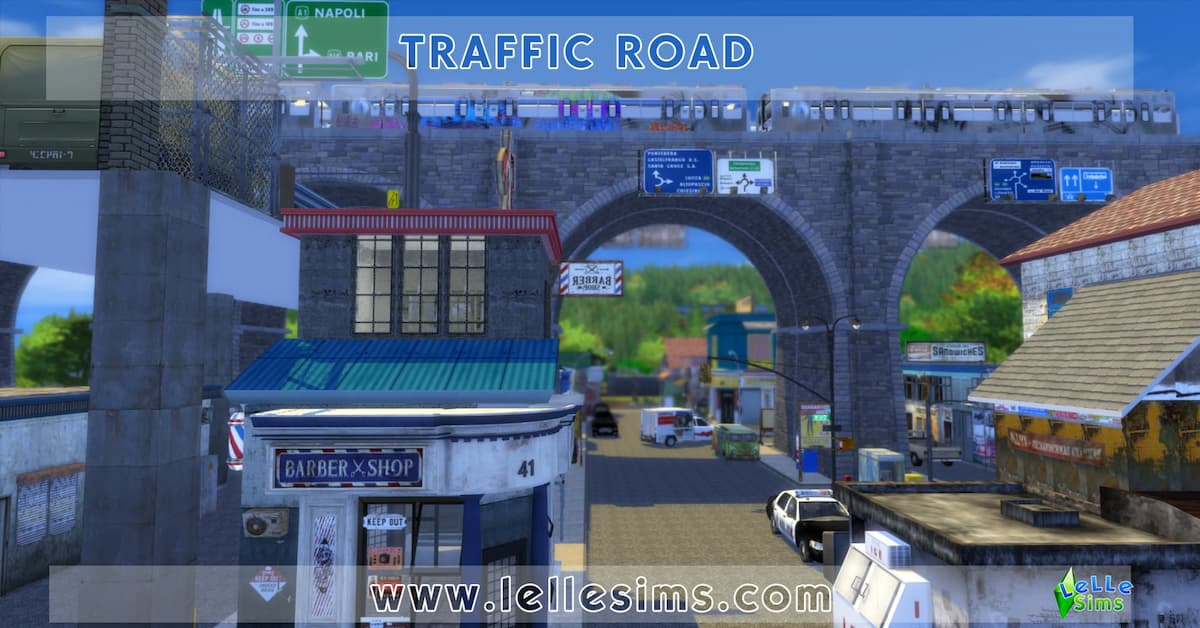 Scarica lotto comunitario the sims 4 traffic road