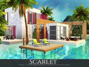 Scarlet lotto residenziale the sims 4
