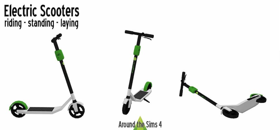 Scooter elettrici the sims 4
