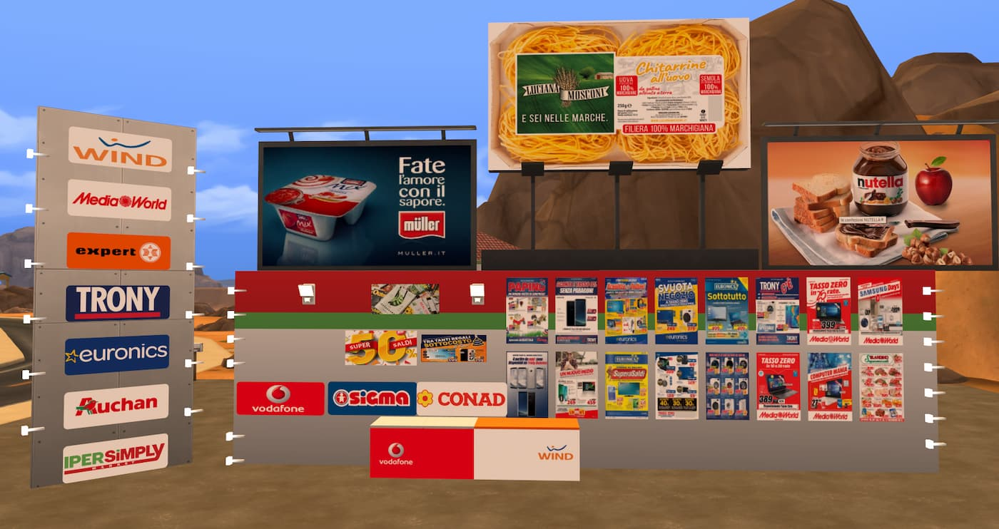 Set supermarket the sims 4