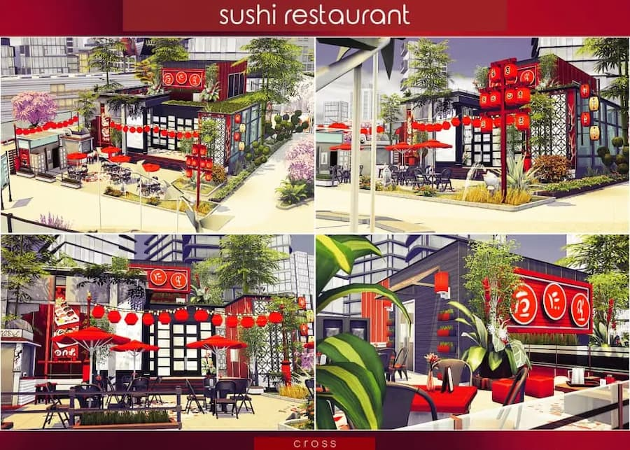Sushi restaurant lotto store/shop