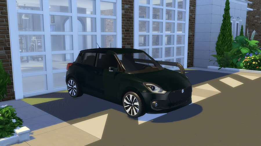 Suzuki swift car the sims 4