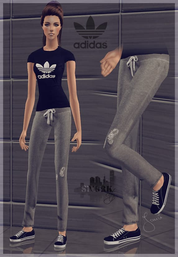 Tuta da ginnastica adidas donna adulta the sims 4
