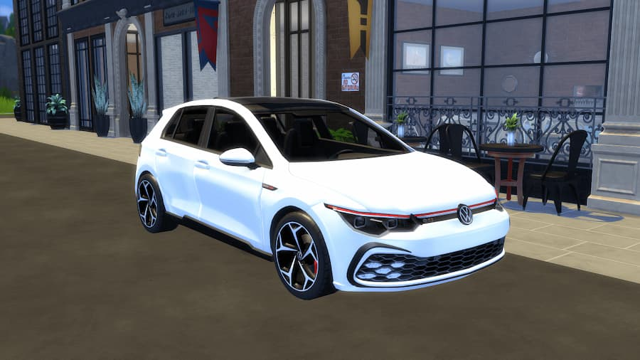 Volkswagen Golf GTI car the sims 4
