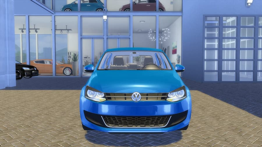 Volkswagen Polo highline the sims 4