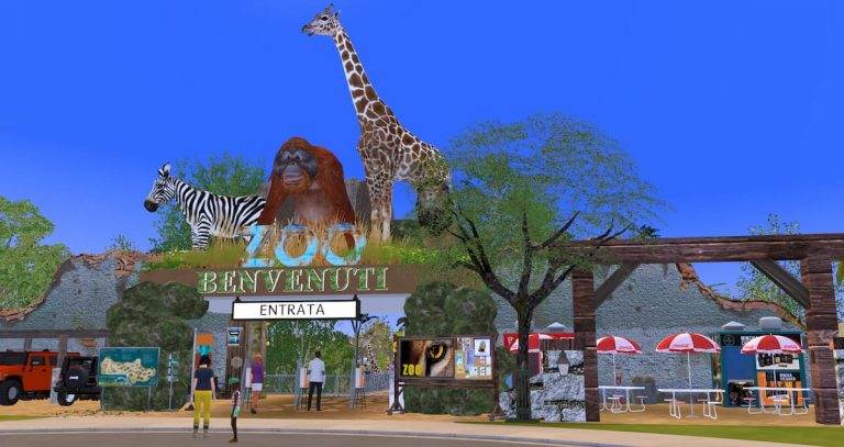 Zoo parck The sims 4